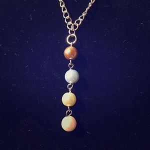 Jewelry - Dangle birthstone pendant.